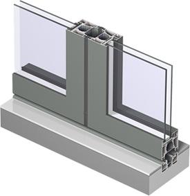 Evoke Aluminium Bifold Door Frame