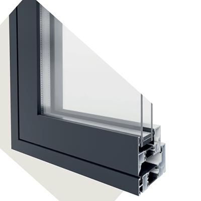 Flush Aluminium Windows by Evoke
