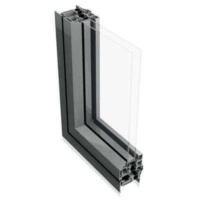 Flush Sash Aluminium Windows by Evoke