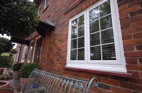 Aluminium Windows by Evoke with Georgian Bars