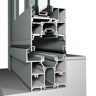 High Performance Bifold Door Profile