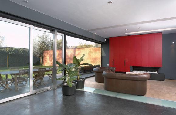Evoke Contemporary Lift & Slide Doors