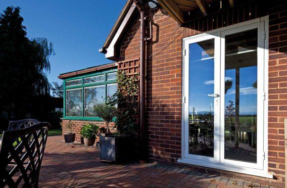 Evoke Residential Aluminium French Doors