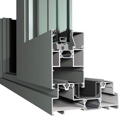 High Performance Lift and Slide Aluminium Door Profile
